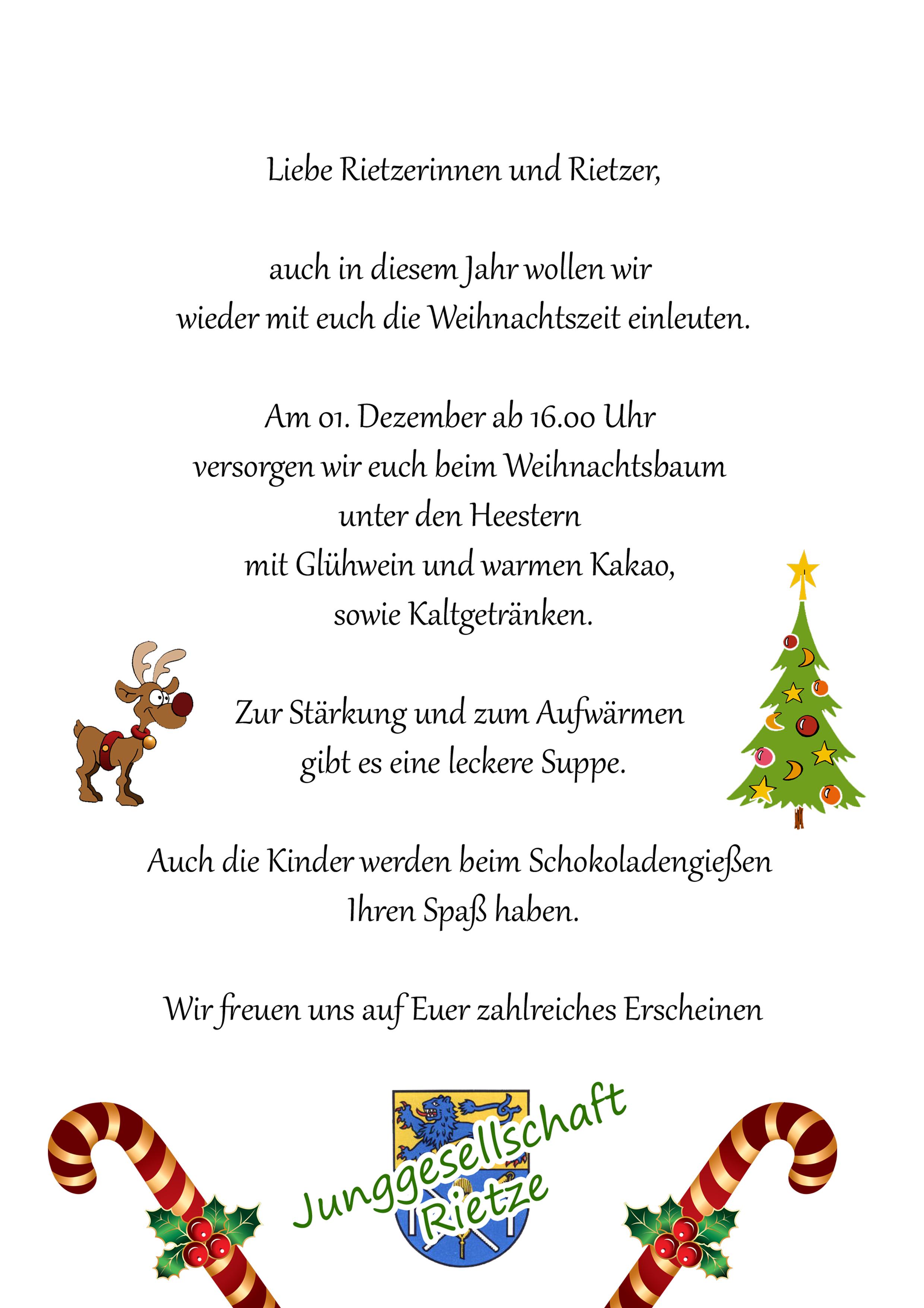Wann Weihnachtsbaum Aufstellen.Weihnachtsbaum Aufstellen 2012 Junggesellschaft Rietze